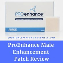 ProEnhance Male Enhancement Patch Review